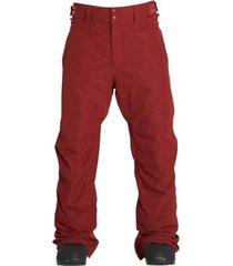 pantalon de nieve lowdown rojo billabong