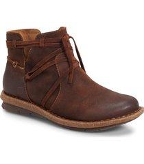 women's b?rn tarkiln bootie, size 8.5 m - brown