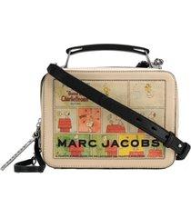 marc jacobs bolsa box peanuts - neutro