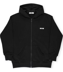 msgm sweatshirt with zip