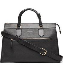 zelea bags top handle bags zwart tiger of sweden