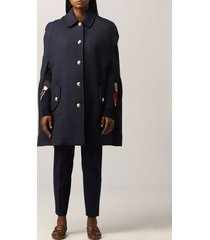boutique moschino cape moschino boutique cape in wool blend