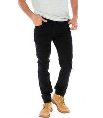 pantalon slim 5 pocket trouser negro cat