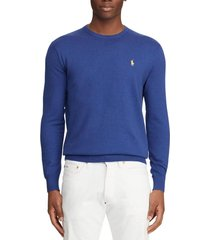 chaleco slim fit cotton azul polo ralph lauren