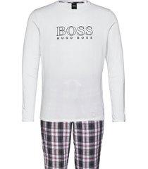 cosy long set pyjamas multi/mönstrad boss