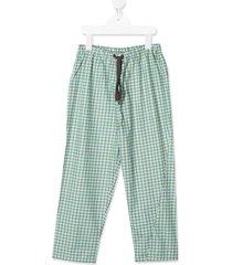 caramel chelsea trousers - green