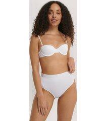 trendyol bikiniunderdel med struktur - white