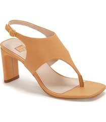 louise et cie lalo thong sandal, size 6 in buttercup at nordstrom