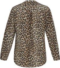 blouse met lange mouwen van emilia lay beige