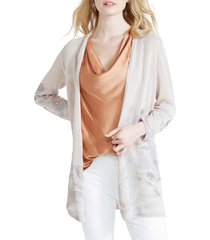 women's nic+zoe haven linen blend cardigan