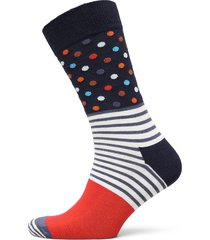 stripes and dots sock underwear socks regular socks multi/mönstrad happy socks
