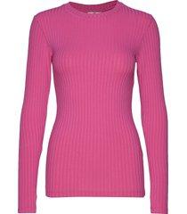 5x5 rib tuba stickad tröja rosa mads nørgaard