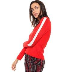 sweater rojo nano eunice
