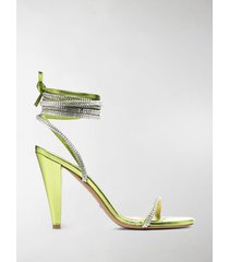 alexandre vauthier amina ankle-tied sandals