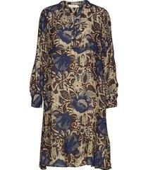 wallflower dress jurk knielengte blauw rabens sal r