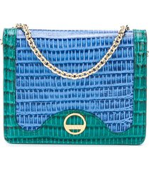 emilio pucci small leather wallet - blue