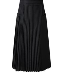 simonetta black skirt for girl