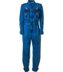 stella mccartney belted fit jumpsuit