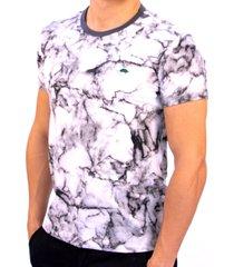 camiseta pau a pique manchada grafite - kanui