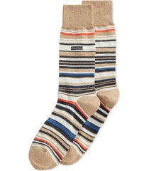 calvin klein men's striped crew socks