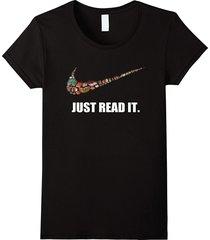 just read it t-shirt women