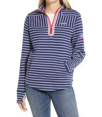 women's vineyard vines americana relaxed stripe shep pullover