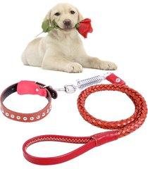 telescopicos perro cuerda, ideal para medianas y grandes perros(brown)