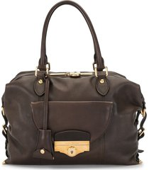 louis vuitton 2009 pre-owned full order tote - brown