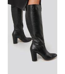trendyol high boots - black