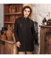 the glenveagh cardigan charcoal s