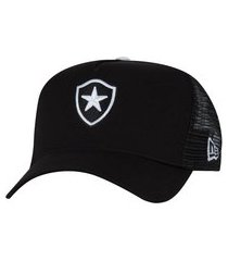 boné aba curva do botafogo new era 940 - snapback - trucker - adulto