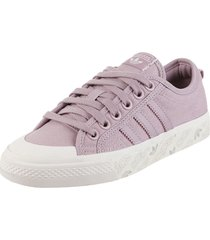 zapatilla violeta adidas originals nizza w