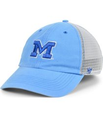 '47 brand michigan wolverines boathouse mesh cap