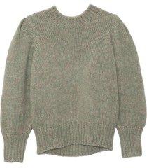 emma sweater in aqua