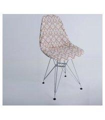 capa p/ cadeira de jantar eiffel wood londres