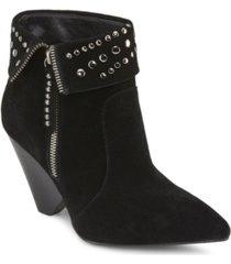 rebel wilson cone heeled ankle booties women's shoes