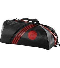 bolsa mochila adidas champion 2in1 bag kick boxing wako 65l