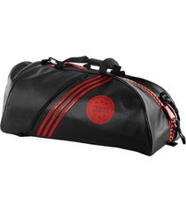 bolsa mochila adidas champion 2in1 bag kick boxing wako 65l