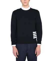 thom browne relaxed fit sweater
