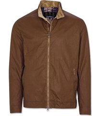 barbour brobel waxed jacket / barbour brobel waxed jacket, brown, xx large