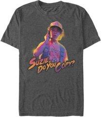 fifth sun men's stranger things dustin suzy do you copy short sleeve t-shirt