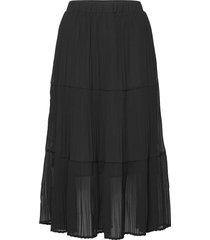 ryannaiw skirt knälång kjol svart inwear
