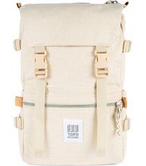 topo designs classic rover backpack - white