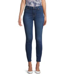 hudson women's mid-rise ankle jeans - gladstone - size 24 (0)