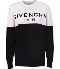 givenchy two-tone pullover