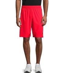 spyder men's drawstring shorts - red - size m