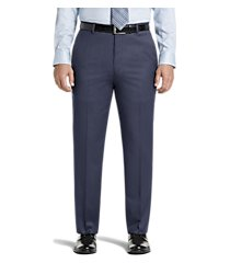 signature collection tailored fit flat front dress pants clearance by jos. a. bank