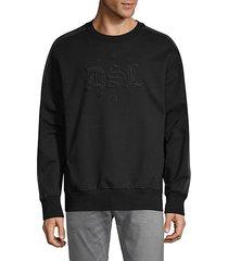 logo embroidery sweatshirt