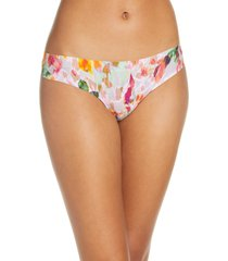 women's knix leakproof low rise thong, size x-large - purple