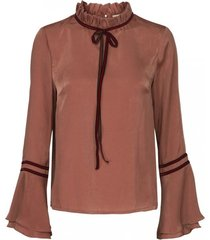 sofieschnoor dames blouses oudroze